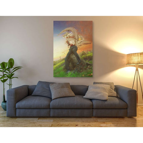 """Afraid of Monsters"" by Mario Sanchez Nevado, Giclee Canvas Wall Art"