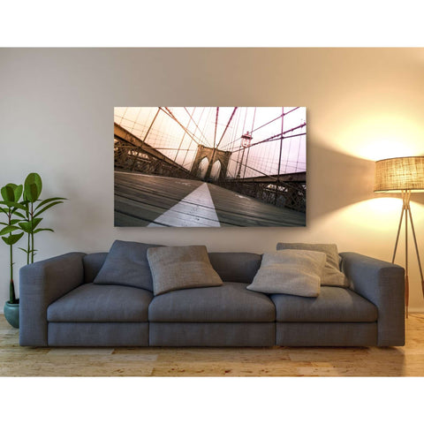 Image of 'Brooklyn Bridge, New York City' by Nicklas Gustafsson, Canvas Wall,40 x 60