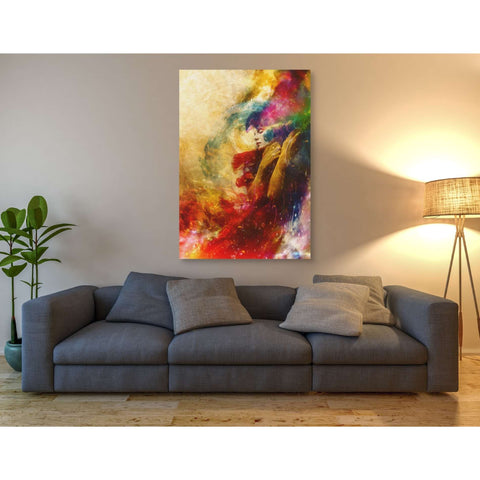 "Image of ""Golden Gloom"" by Mario Sanchez Nevado, Giclee Canvas Wall Art"