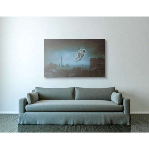 """Sometimes"" by Mario Sanchez Nevado, Giclee Canvas Wall Art"