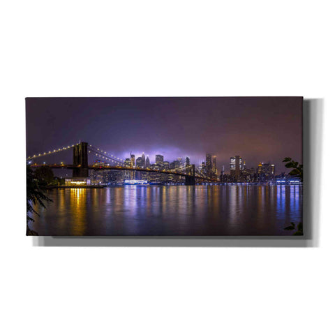 'Bright Lights Of New York II' by Nicklas Gustafsson Canvas Wall Art