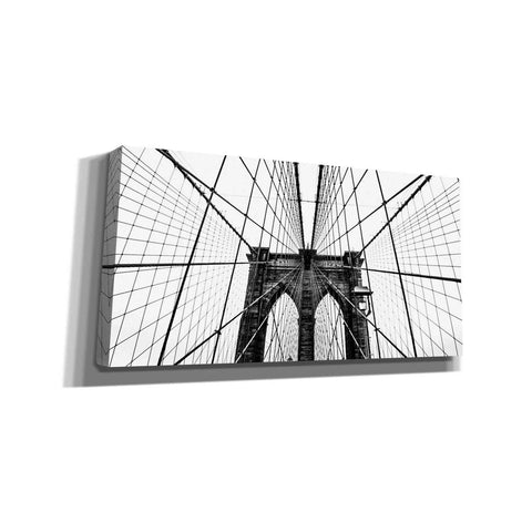 Image of 'Brooklyn Bridge Web' by Nicklas Gustafsson Canvas Wall Art