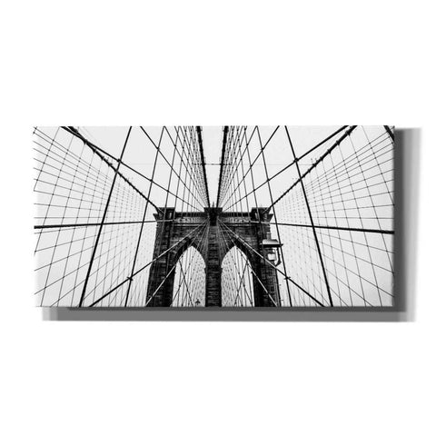 'Brooklyn Bridge Web' by Nicklas Gustafsson Canvas Wall Art