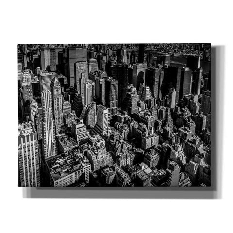 'Manhattan Rooftop View' by Nicklas Gustafsson Canvas Wall Art