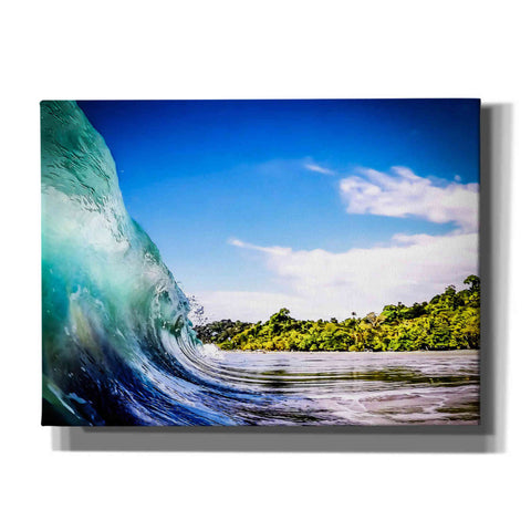 'Tropical Wave' by Nicklas Gustafsson Canvas Wall Art