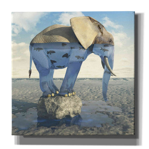 Image of 'Drinking Problem' by Cynthia Decker, Canvas Wall Art