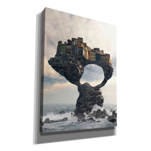 'Precarious' by Cynthia Decker, Canvas Wall Art