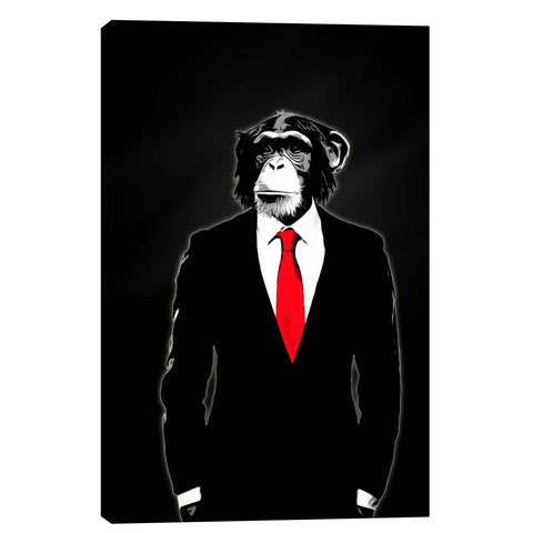 """Domesticated Monkey"" by Nicklas Gustafsson, Giclee Canvas Wall Art"