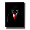 """Mobster Cat"" by Nicklas Gustafsson, Giclee Canvas Wall Art"