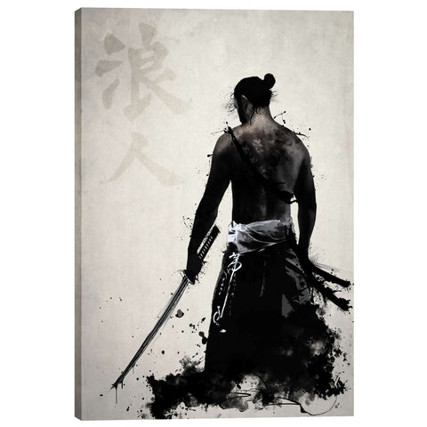 """Ronin"" by Nicklas Gustafsson, Giclee Canvas Wall Art"