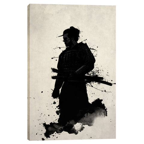 "Image of ""Samurai"" by Nicklas Gustafsson, Giclee Canvas Wall Art"