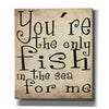 """You're The Only Fish In The Sea"" by Nicklas Gustafsson, Giclee Canvas Wall Art"