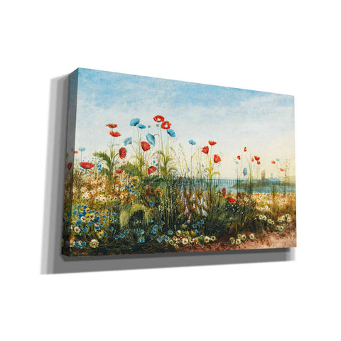 'Malahide Estuary' by Andrew Nicholl Canvas Wall Art,12 x 18