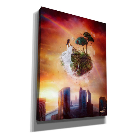 Image of 'Analog Park' by Mario Sanchez Nevado, Canvas Wall Art,Size A Portrait