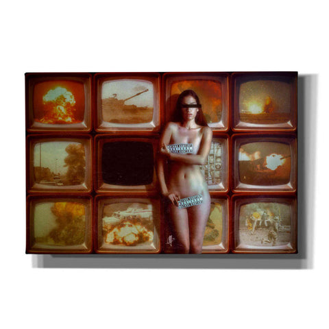 "Image of ""Retransmission"" by Mario Sanchez Nevado, Giclee Canvas Wall Art"