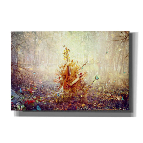 'Silence' by Mario Sanchez Nevado, Canvas Wall Art,Size A Landscape