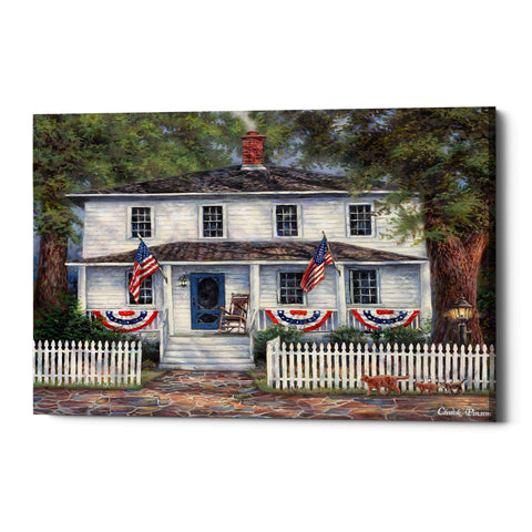 "Image of ""American Roots"" by Chuck Pinson, Giclee Canvas Wall Art"