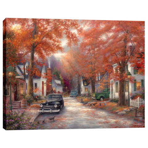 """A Moment on Memory Lane"" by Chuck Pinson, Giclee Canvas Wall Art"