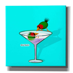 """Dirty Martini"" by Chuck Wimmer, Giclee Canvas Wall Art"