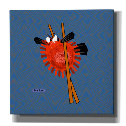 Image of 'Fugu' by Chuck Wimmer, Canvas Wall Art