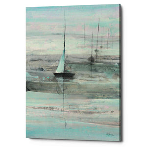 'Ice Sailing' by Albena Hristova, Canvas Wall Art