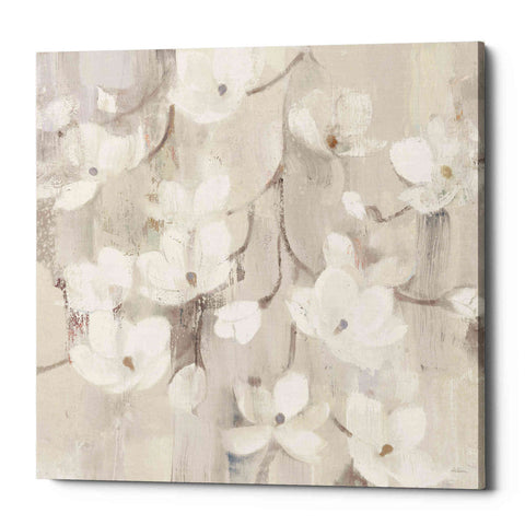Image of 'Magnolias in Spring II Neutral' by Albena Hristova, Canvas Wall Art