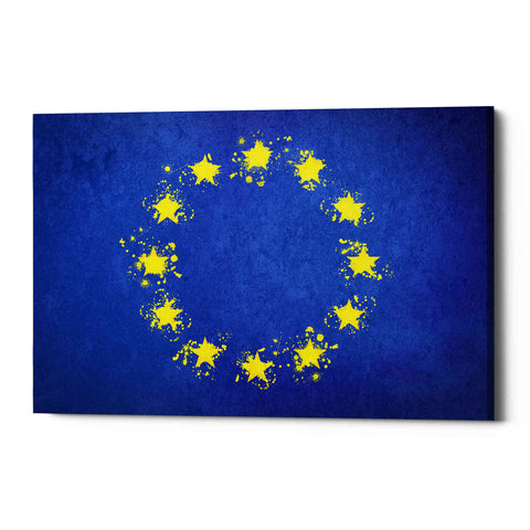 Image of 'European Union' Giclee Canvas Wall Art