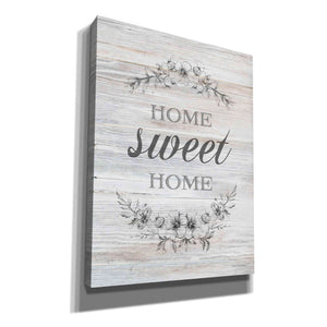 'Home Sweet Home' by Bluebird Barn, Canvas Wall Art,Size C Portrait