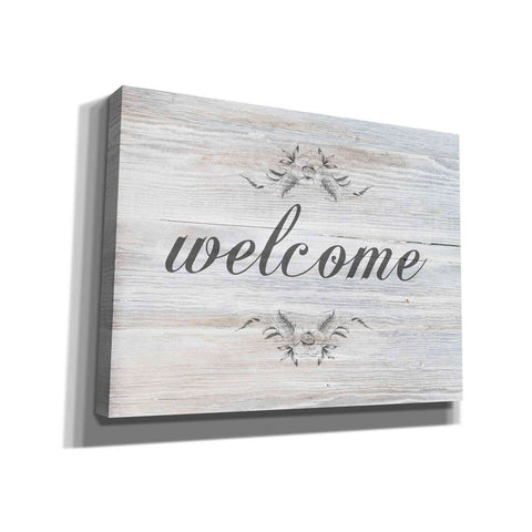Image of 'Welcome' by Bluebird Barn, Giclee Canvas Wall Art