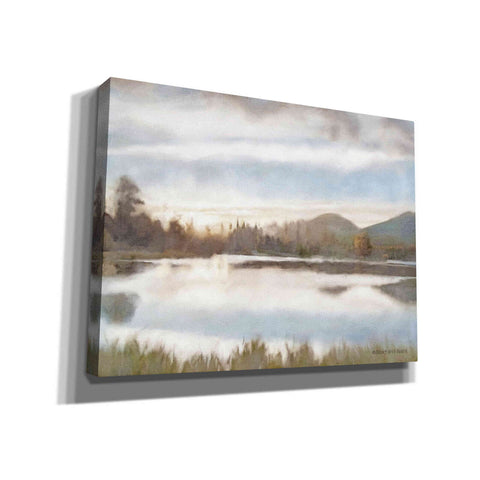 Image of 'Lakeview Sunset Landscape' by Bluebird Barn, Canvas Wall Art,Size C Landscape