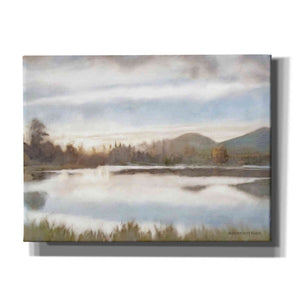 'Lakeview Sunset Landscape' by Bluebird Barn, Canvas Wall Art,Size C Landscape