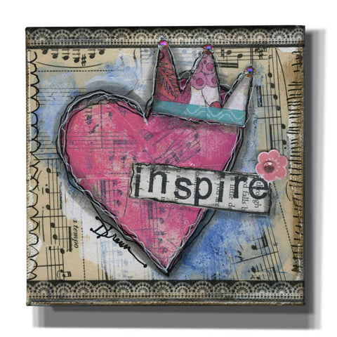 'Inspire' by Denise Braun, Giclee Canvas Wall Art