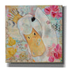 'Love Duck' by Denise Braun, Canvas Wall Art,Size 1 Square