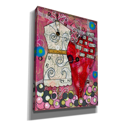 "Image of ""It's Not the Dress Size"" by Denise Braun, Giclee Canvas Wall Art"