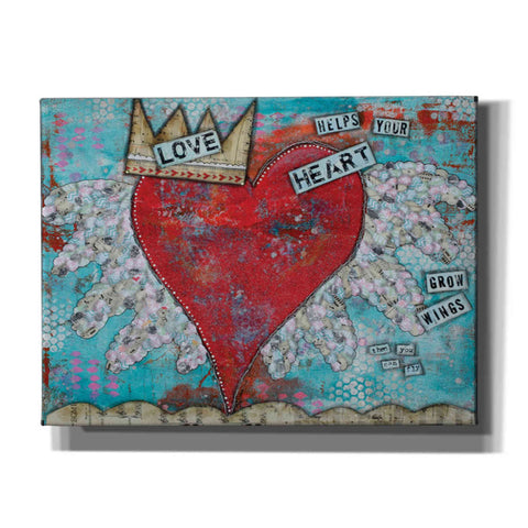 Image of 'Love Heart' by Denise Braun, Giclee Canvas Wall Art