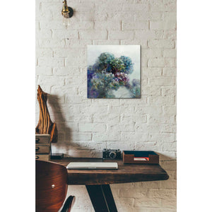 'Abstract Hydrangea' by Danhui Nai, Canvas Wall Art,12 x 12
