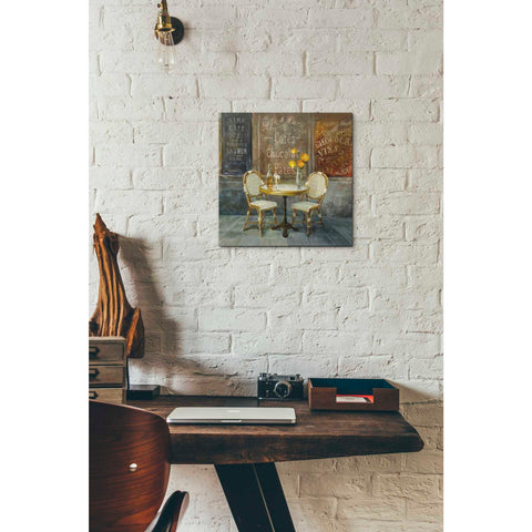 "Image of ""French Cafe"" by Danhui Nai, Giclee Canvas Wall Art"