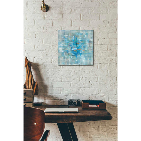 """Abstract Squares"" by Danhui Nai, Giclee Canvas Wall Art"