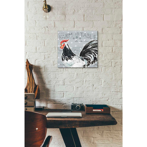 Image of 'Roosters Call III' by Daphne Brissonet, Giclee Canvas Wall Art