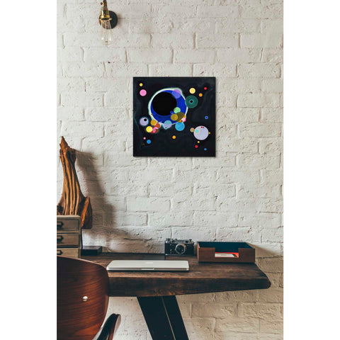 Image of 'Several Circles' by Wassily Kandinsky Canvas Wall Art,12 x 12
