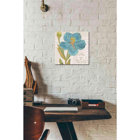 Image of 'Bookshelf Botanical VI' by Katie Pertiet, Giclee Canvas Wall Art