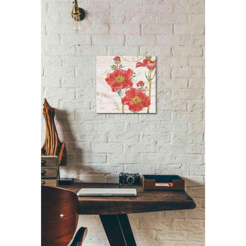 Image of 'Bookshelf Botanical V' by Katie Pertiet, Giclee Canvas Wall Art