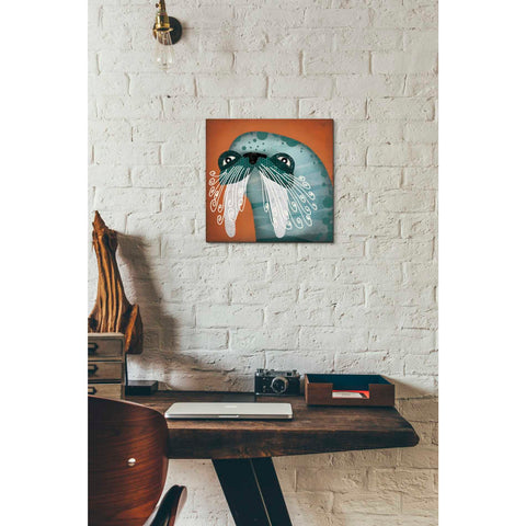 Image of 'Walrus Wow' by Ryan Fowler, Giclee Canvas Wall Art