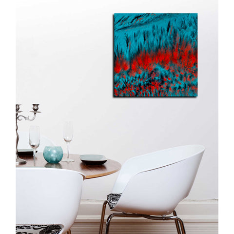 'Earth As Art: Eerie Cloud Shadows' Giclee Acrylic Wall Art
