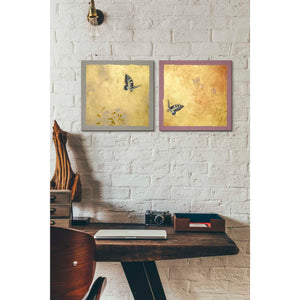 'Butterfly R' by Zigen Tanabe, Giclee Canvas Wall Art
