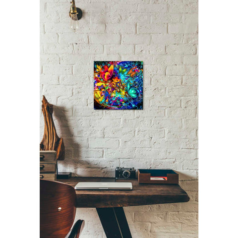 Image of 'Melting Pot' Canvas Wall Art,12 x 12