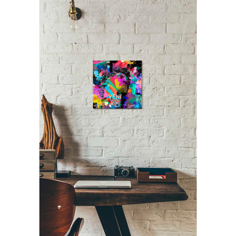 'Michelangelo's David Color' Giclee Canvas Wall Art