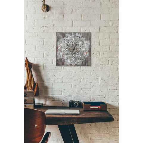 """Mandala In Neutral II"" by Danhui Nai, Giclee Canvas Wall Art"
