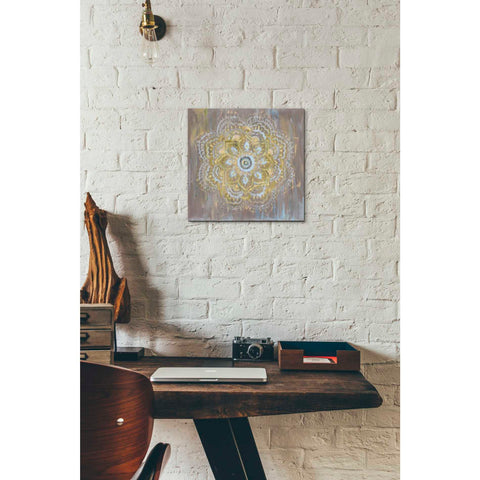 Image of 'Bombay Bohemian Neutral' by Danhui Nai, Canvas Wall Art,12 x 12
