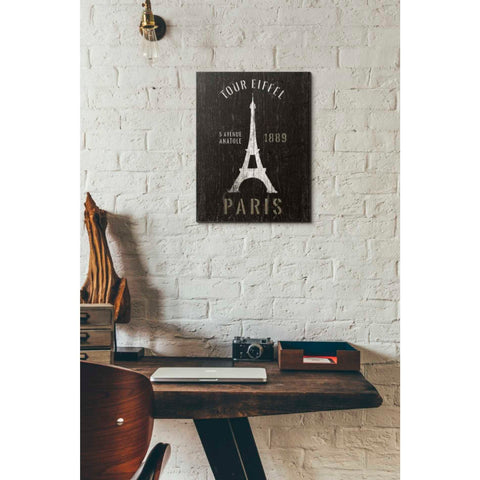 Image of 'Refurbished Eiffel Tower' by Wild Apple Portfolio, Giclee Canvas Wall Art